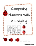 Decomposing Numbers Within 10 (Ladybugs Theme)