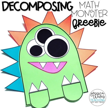 Decomposing Math Monster Craftivity