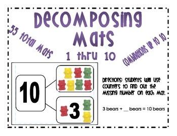 Decomposing Mats