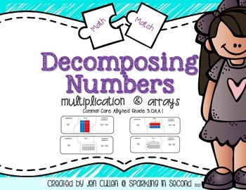 Decomposing Multiplication Puzzle Match