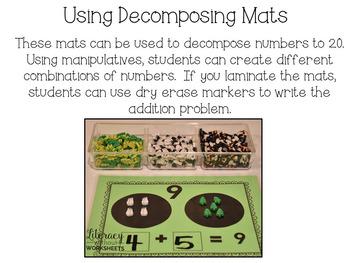 Decomposing Number Mats 2-20