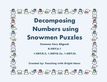 Decomposing Number Puzzles