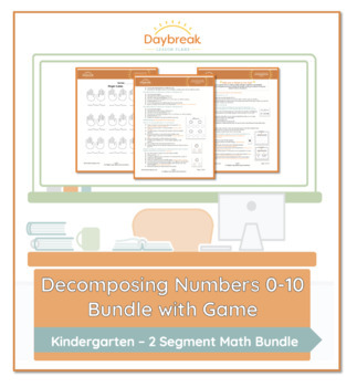 Decomposing Numbers 0-10