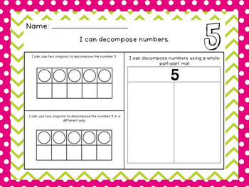 Kindergarten Order Numbers 1 20 Worksheet Easy NO PREP Activity ...