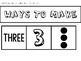 Decomposing Numbers 1-5