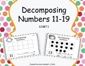 Decomposing Numbers 11-19 K.NBT.1