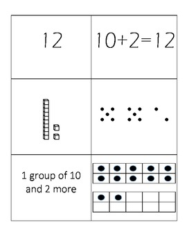 Decomposing Numbers 11 - 20