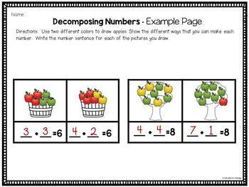 Addition Activities Centers and Printables