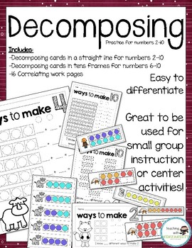 Decomposing Numbers 2-10