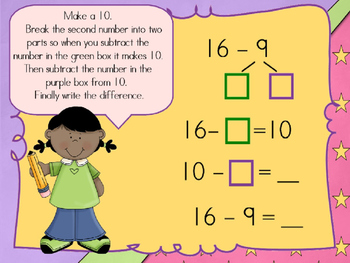 Decomposing Numbers (Power Point Lesson)
