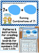 Decomposing Numbers 3-10 Center, Practice Pages, Equation Boards K.OA.A.3