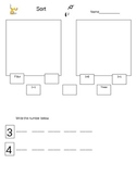 Decomposing Numbers 3,4