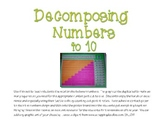 Decomposing Numbers 4-10