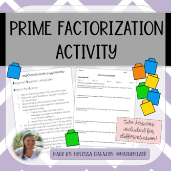 Decomposing Numbers - A hands-on introduction to prime factorization