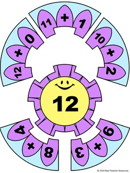 Decomposing Numbers Addition Puzzles - Numbers 12-15