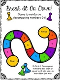 Decomposing Numbers Game