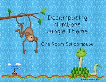 Decomposing Numbers; Jungle Theme