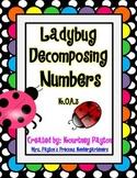 Ladybug Decomposing Numbers K.OA.3