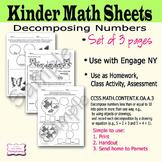 Decomposing Numbers Kindergarten K.OA.A.3