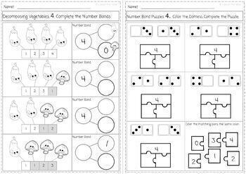 Decomposing Numbers & Learning Number Bonds 1-10 for K.OA 3.0 and 4.0