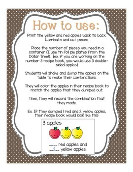 Decomposing Numbers: Let's Make an Apple Pie!