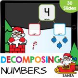 Decomposing Numbers: Number Bonds 3-10 Christmas Math Goog