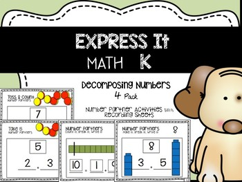 Decomposing Numbers Pack {Compatible with Math Expressions}
