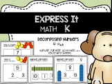 EXPRESS IT Decomposing Numbers  {4 Pack}