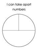 Decomposing Numbers Pie Plate