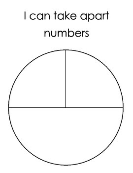 Decomposing Numbers Pie Plate