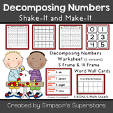 Decomposing Numbers to 10 ~ Shake-It and Make-It