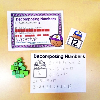 Decomposing Numbers - Ways to make numbers