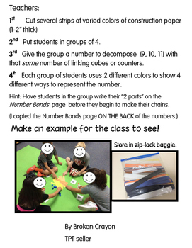 Decomposing Numbers - chains