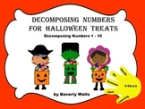 Decomposing Numbers for Halloween Treats