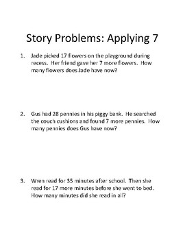 Decomposing Numbers for Problem Solving