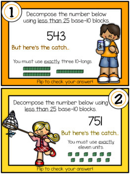 Decomposing Numbers to 1,200: TEKS 2.2A