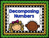Decomposing Numbers to 10 Printables