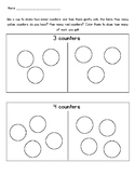 Decomposing Numbers to 5 with Counters