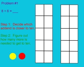 Decomposing Numbers to Make a Ten Flipchart