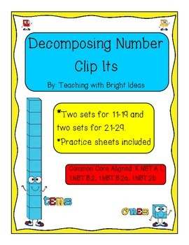 Decomposing Numbers using Clip Its