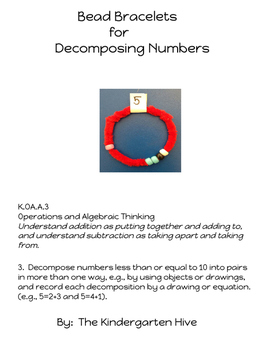 Decomposing Numbers with Bead Bracelets