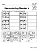 Decomposing Numbers with Dominoes Cut and Paste