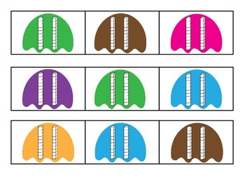 Decomposing Numbers with Ice Cream Puzzles