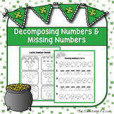 St.Patrick's Day Decomposing and Finding Missing Numbers W