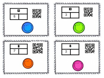 Decomposing Numbers/Part Part Whole in  QR codes