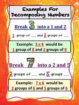 Decomposing {POSTER} ** Breaking Apart Numbers