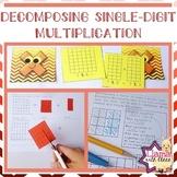 Decomposing Single-Digit Multiplication Worksheets and Mem