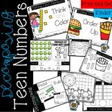 Decomposing Teen Numbers: Kindergarten