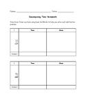 Decomposing Tens Homework