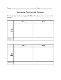 Decomposing Tens/Hundreds Checkpoint